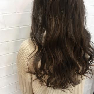 大人かわいい フェミニン グラデーションカラー ゆるふわ ヘアスタイルや髪型の写真・画像