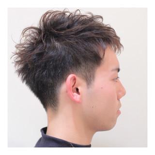 メンズ ショート ボーイッシュ ナチュラル ヘアスタイルや髪型の写真・画像