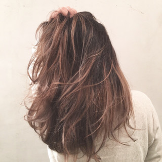 外国人風 大人かわいい ハイライト ストリート ヘアスタイルや髪型の写真・画像