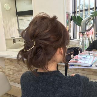 ショート 大人かわいい ヘアアレンジ セミロング ヘアスタイルや髪型の写真・画像 ヘアスタイルや髪型の写真・画像