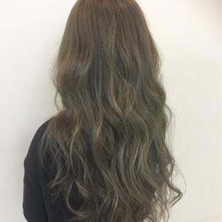 ロング 外国人風 モード 大人かわいい ヘアスタイルや髪型の写真・画像