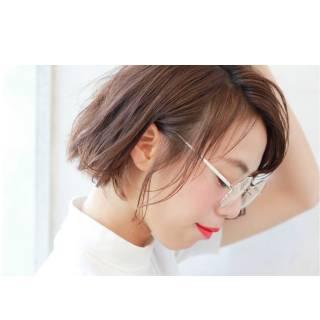 春 ショート ウェットヘア パンク ヘアスタイルや髪型の写真・画像