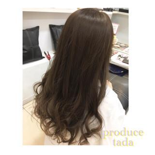 アッシュ 外国人風 グラデーションカラー 暗髪 ヘアスタイルや髪型の写真・画像