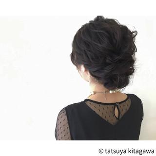 アップスタイル 結婚式 ヘアアレンジ 外国人風 ヘアスタイルや髪型の写真・画像