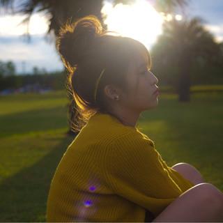 簡単ヘアアレンジ ミディアム ヘアアレンジ 愛され ヘアスタイルや髪型の写真・画像