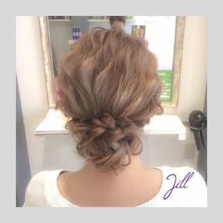 ハイライト ダブルカラー ヘアアレンジ 波ウェーブ ヘアスタイルや髪型の写真・画像 ヘアスタイルや髪型の写真・画像