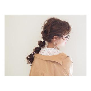 ナチュラル ロング 三つ編み ヘアアレンジ ヘアスタイルや髪型の写真・画像 ヘアスタイルや髪型の写真・画像