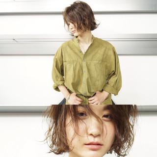 パーマ アッシュ 簡単 外国人風 ヘアスタイルや髪型の写真・画像
