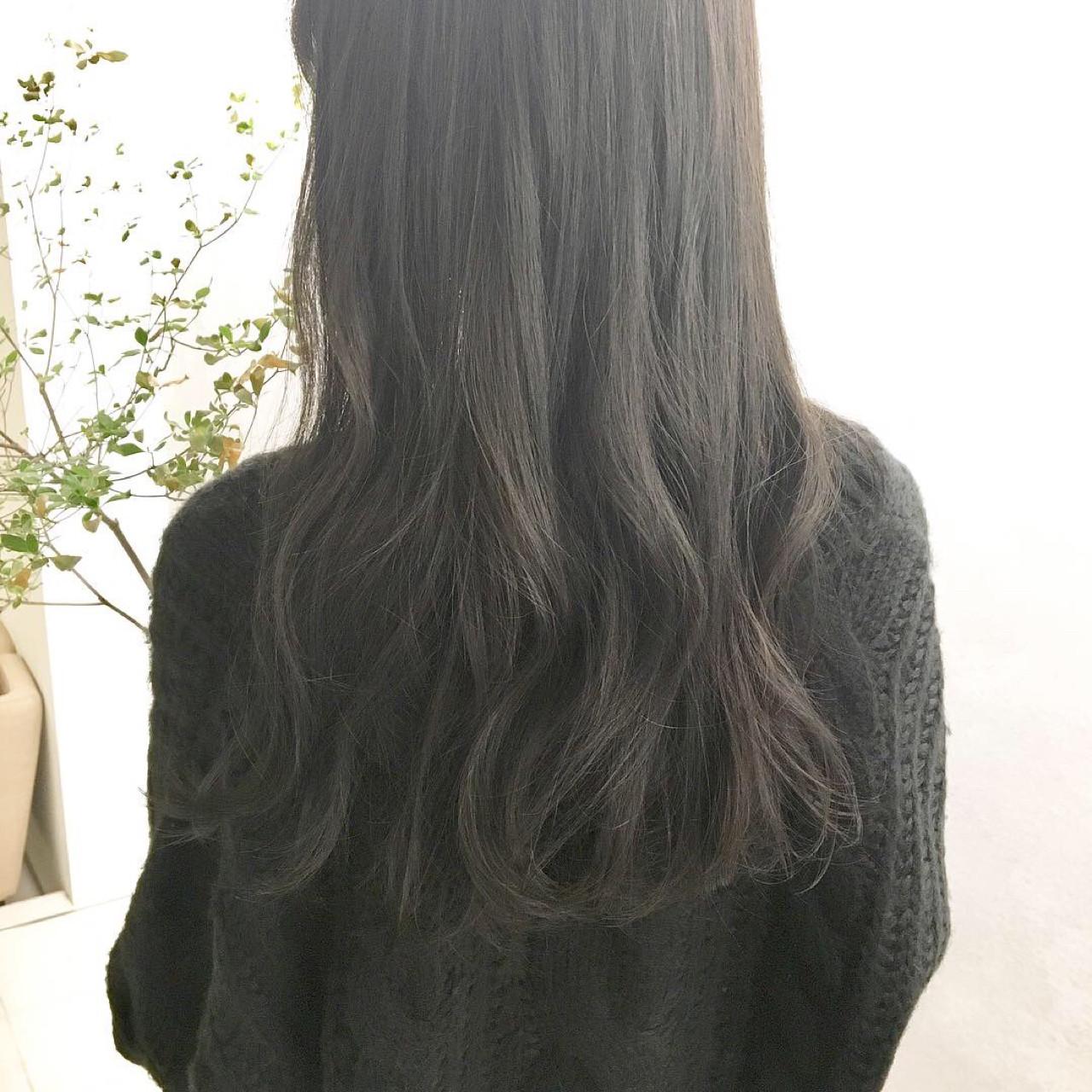 ロング 大人女子 大人かわいい ナチュラル ヘアスタイルや髪型の写真・画像
