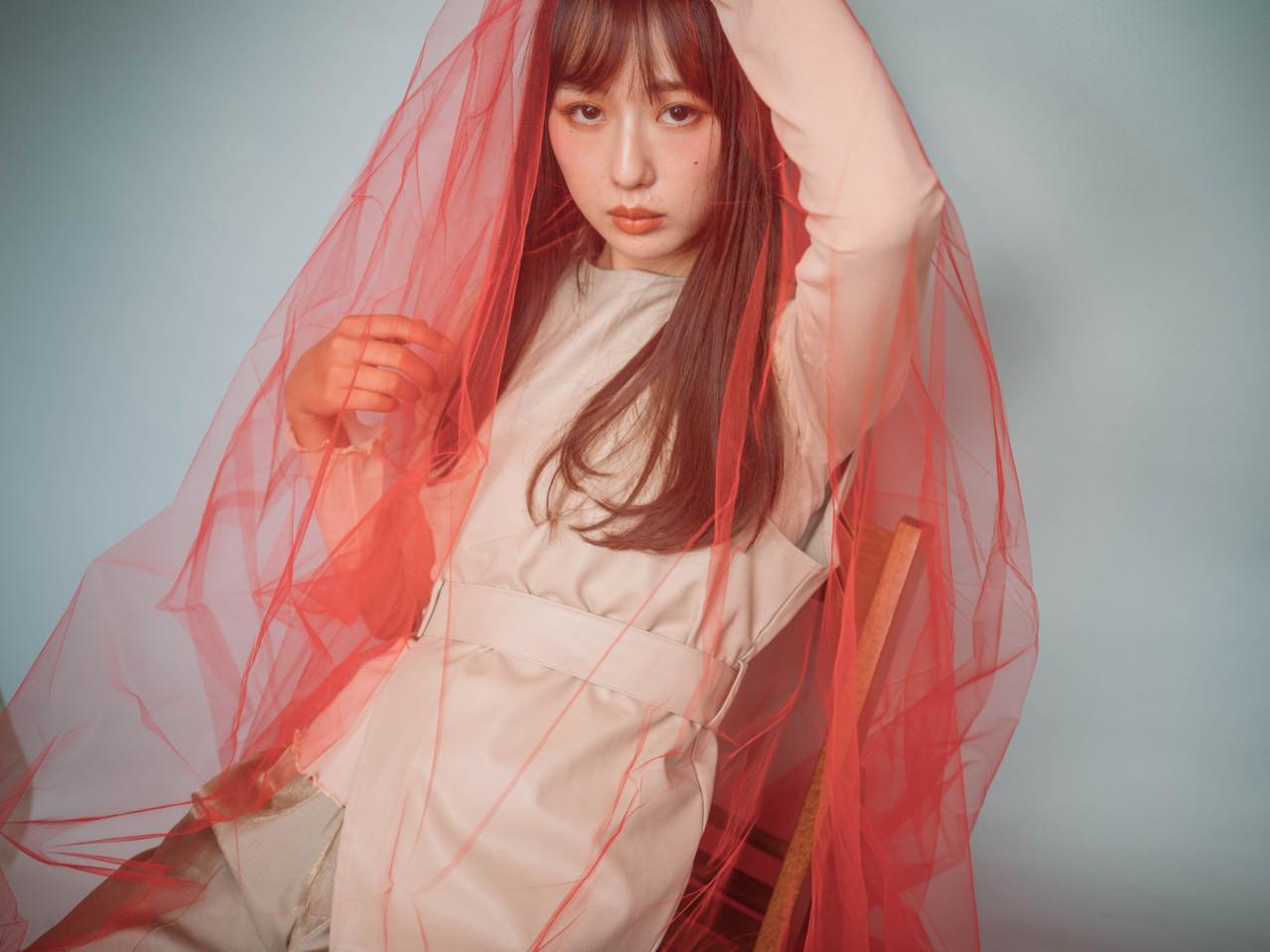 ナチュラル ロング ヘアスタイルや髪型の写真・画像   中内田沙織 / MY hair design