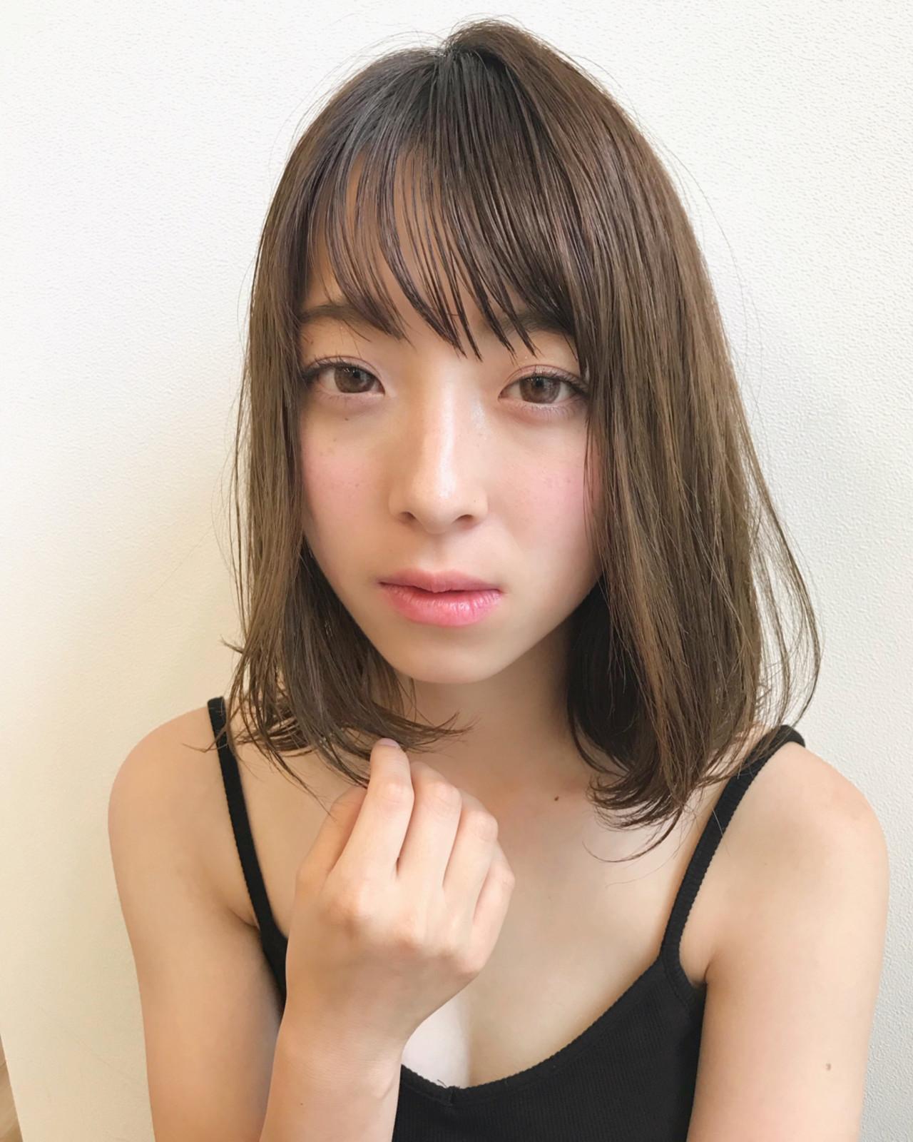 モテ髪 夏 大人かわいい ナチュラル ヘアスタイルや髪型の写真・画像