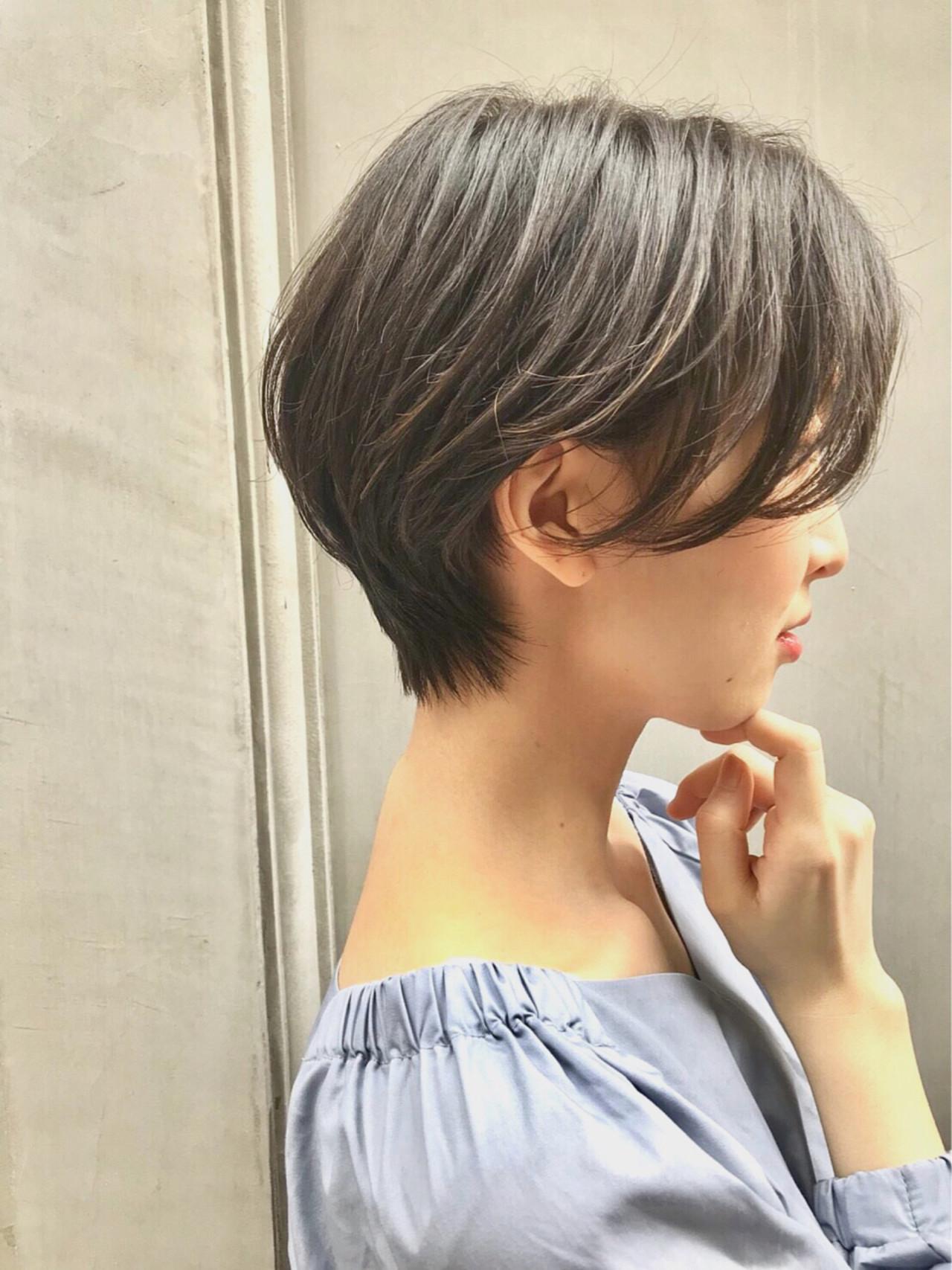 ナチュラル 比留川游 長澤まさみ ショート ヘアスタイルや髪型の写真・画像