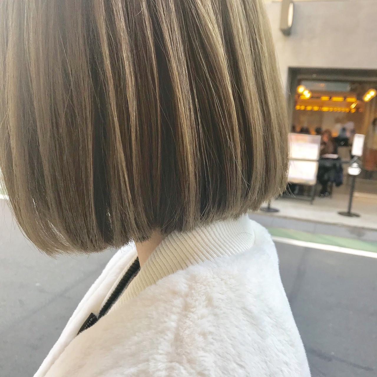 ボブ アンニュイほつれヘア 結婚式 ナチュラル ヘアスタイルや髪型の写真・画像 | 槙山ユースケ/トップスタイリスト / chobii