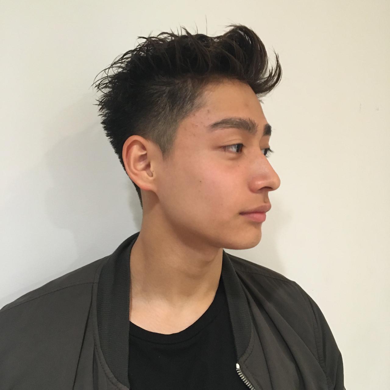 ショート 大学生 メンズヘア メンズカット ヘアスタイルや髪型の写真・画像