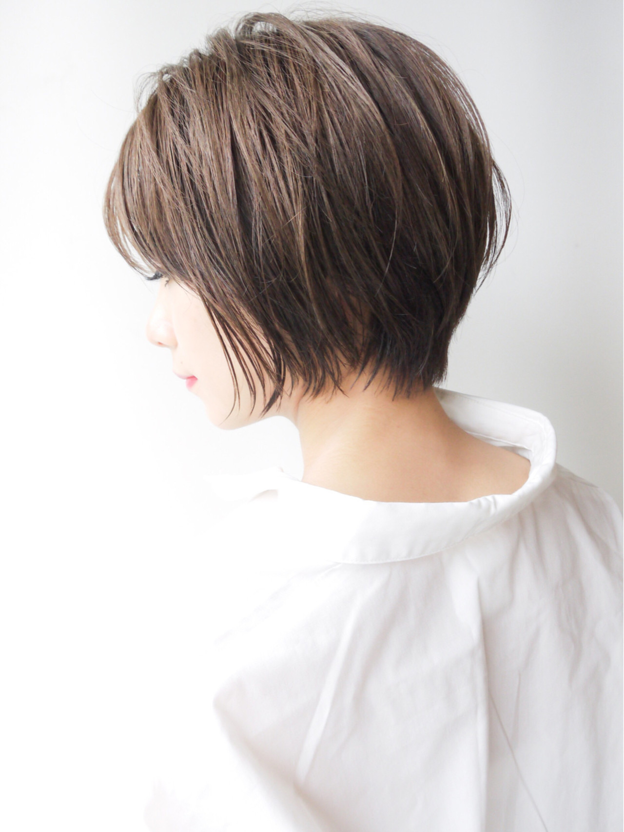 オフィス 愛され ゆるふわ ショート ヘアスタイルや髪型の写真・画像 | HIROKI / roijir / roijir