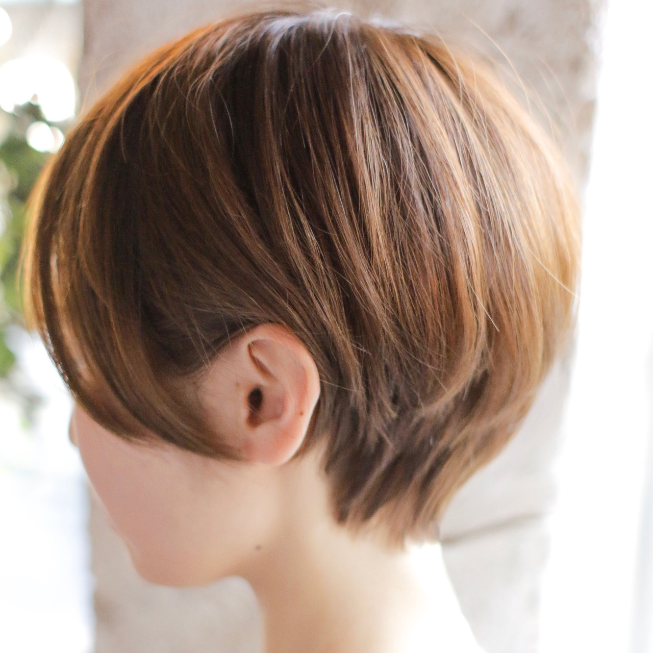 ショートヘア ショート ショートボブ ナチュラル ヘアスタイルや髪型の写真・画像   辻口 俊 / +〜ing deux (カライング ドゥ)