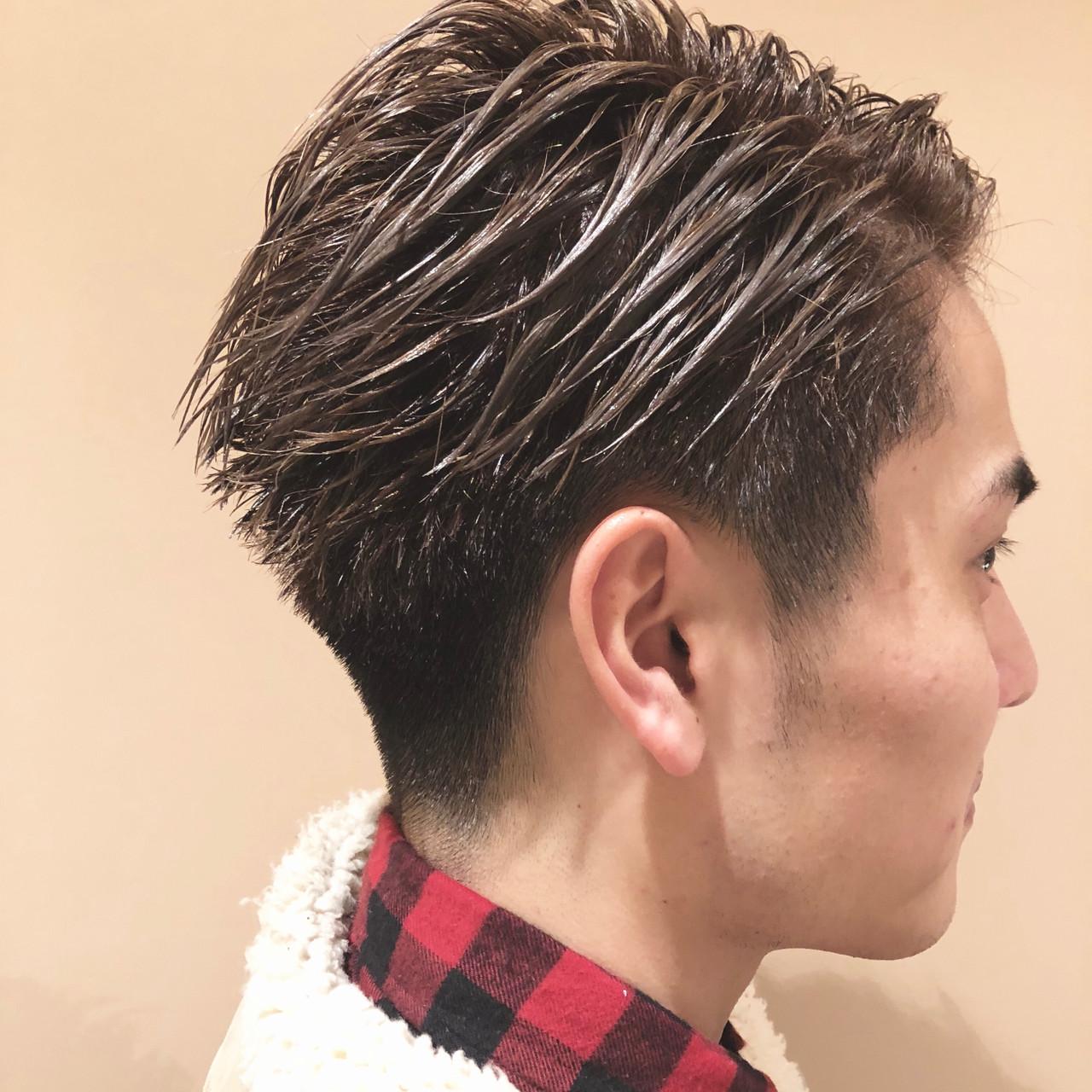 イメチェン メンズショート ナチュラル ショート ヘアスタイルや髪型の写真・画像