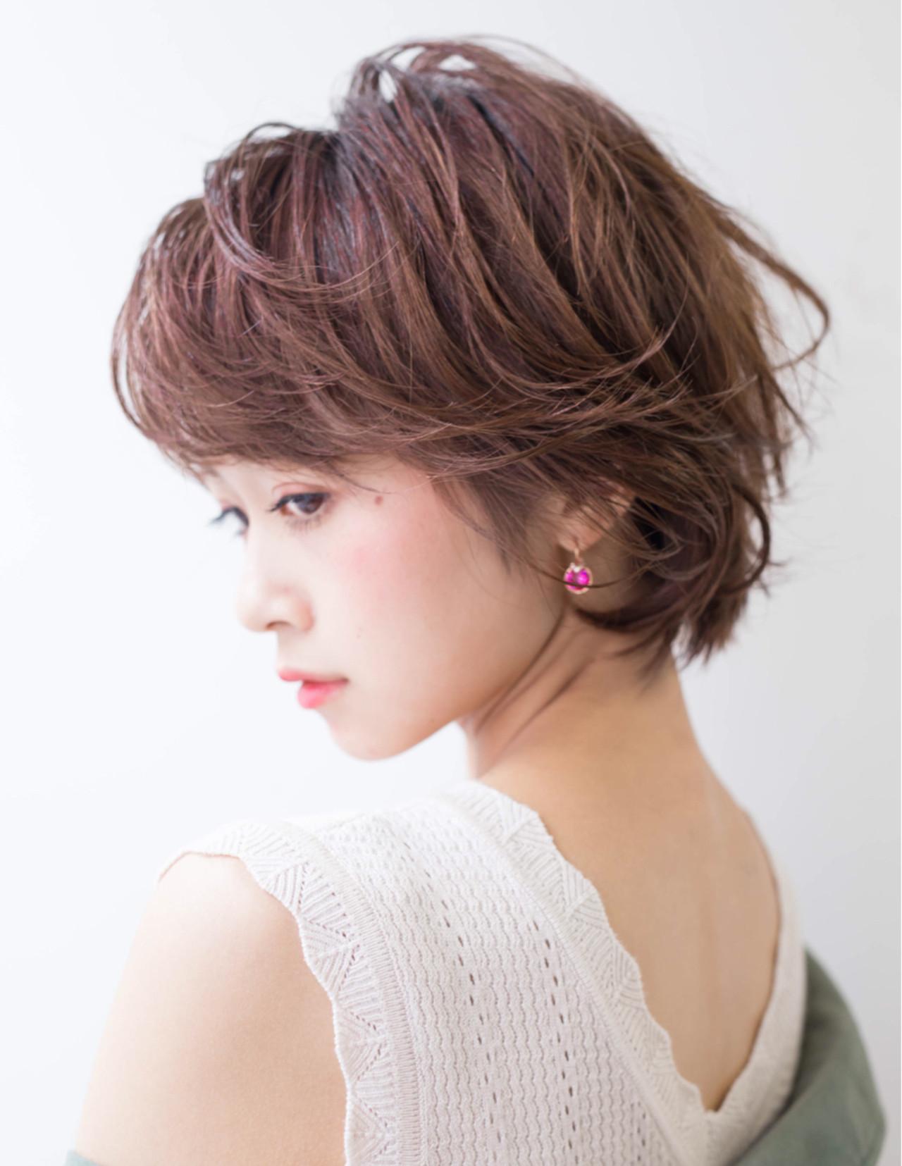 女子力 小顔 こなれ感 似合わせ ヘアスタイルや髪型の写真・画像   Fringe 染谷正 / Fringe Hair Salon