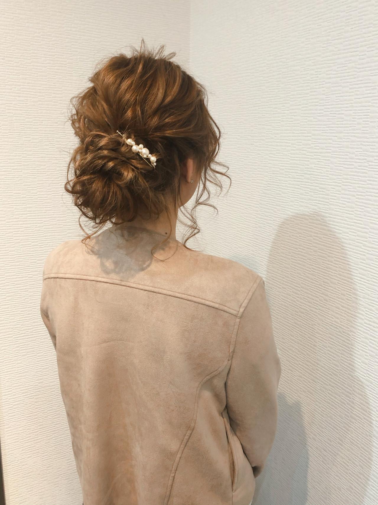 ヘアセット ヘアアレンジ アップスタイル アップ ヘアスタイルや髪型の写真・画像