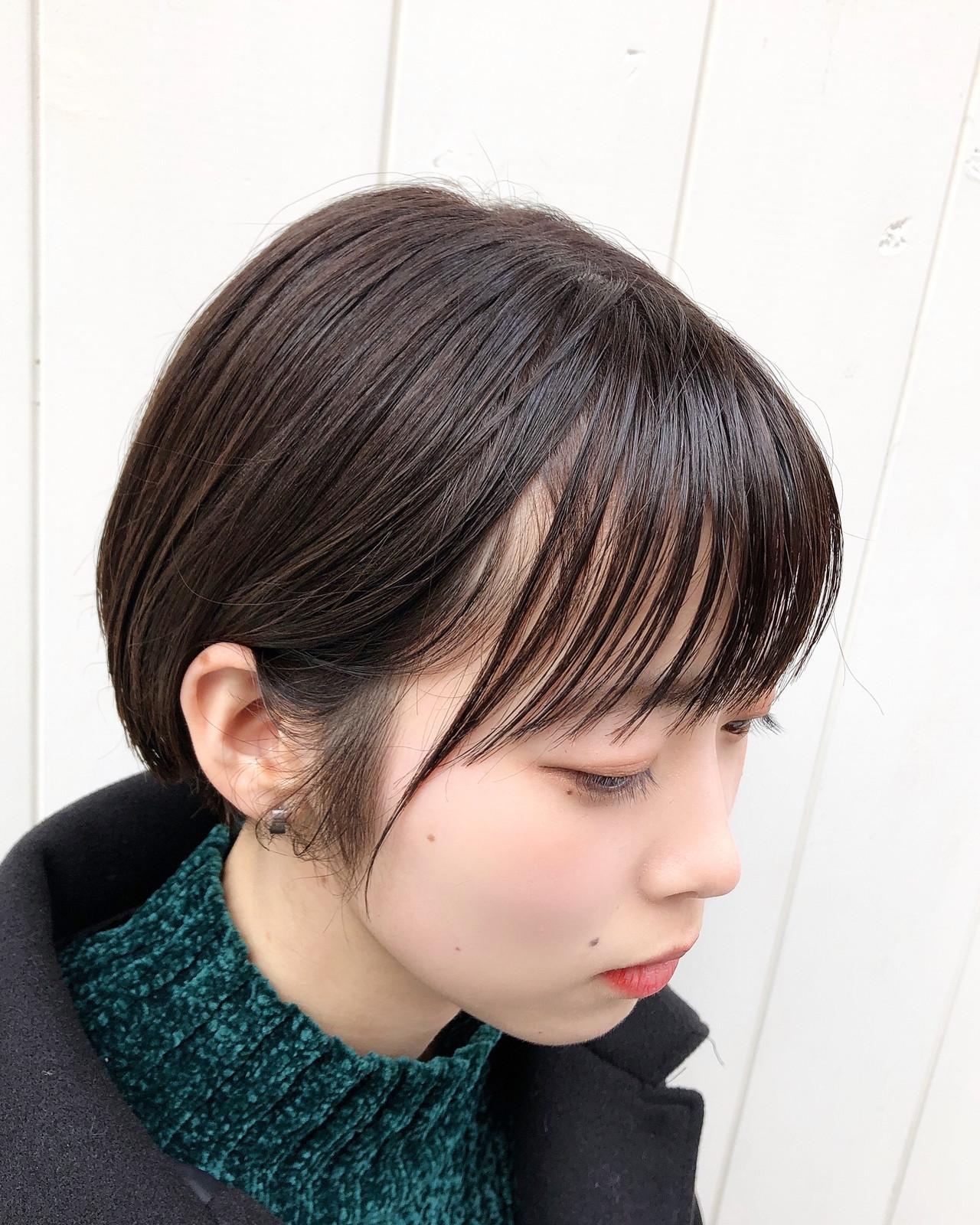 ベリーショート ショートボブ ショート フェミニン ヘアスタイルや髪型の写真・画像