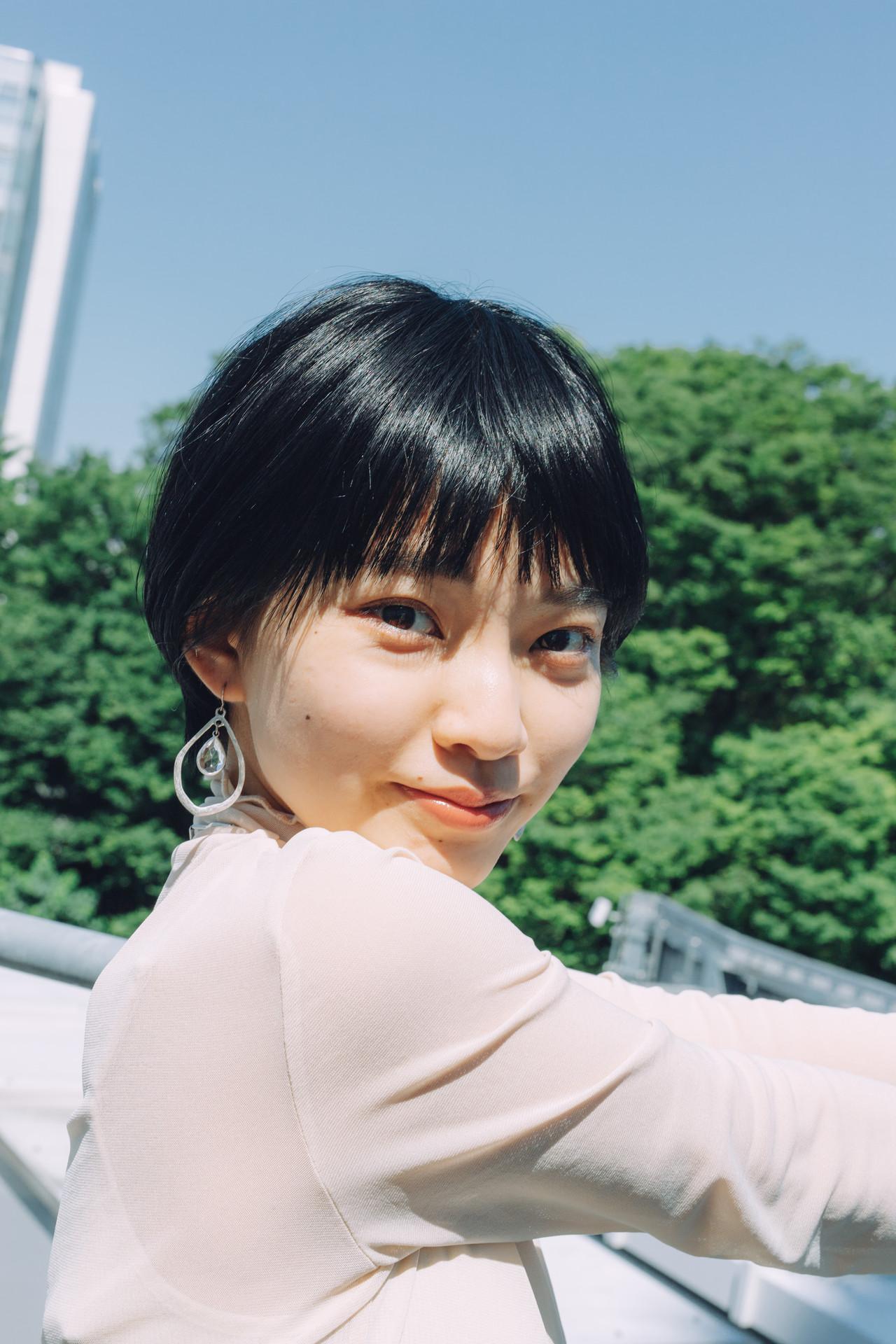 ショートボブ ショートヘア ハンサムショート ナチュラル ヘアスタイルや髪型の写真・画像   児玉善央 / GARDEN harajuku