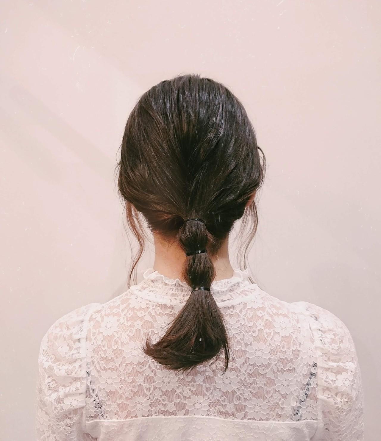 フェミニン 簡単ヘアアレンジ かわいい ヘアアレンジ ヘアスタイルや髪型の写真・画像   ナカムラ ミノリ / 株式会社 Luxe(ラグゼ)