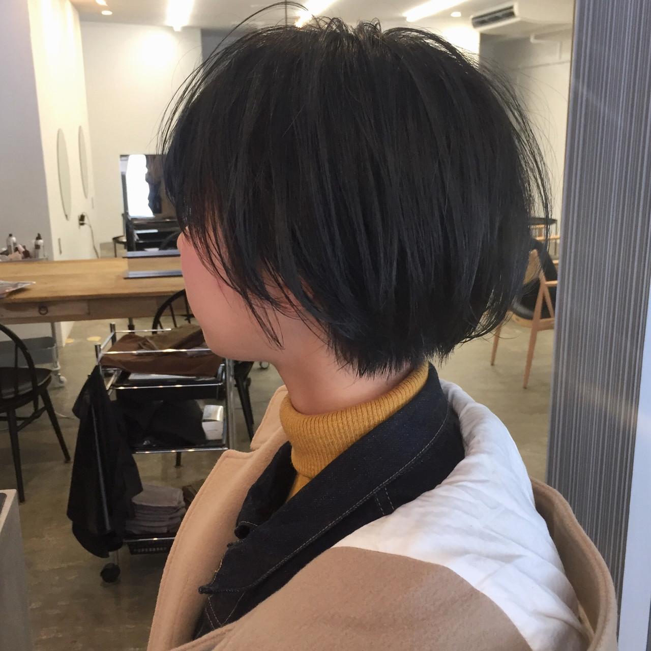 小顔ショート ハンサムショート ショート 大人ショート ヘアスタイルや髪型の写真・画像   【ショート&ショートボブはお任せください】淺川聖 / parc sapporo