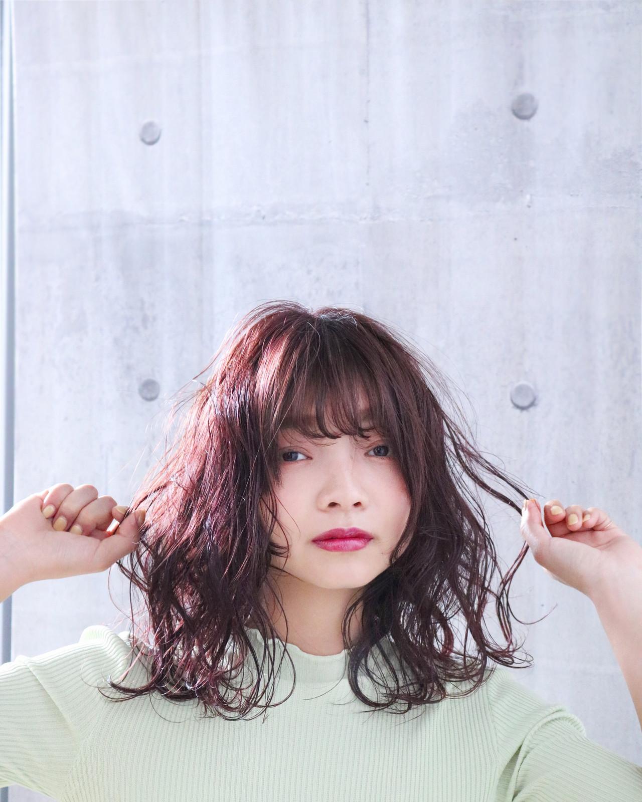 大人かわいい ピンクラベンダー ピンクパープル ピンクベージュ ヘアスタイルや髪型の写真・画像