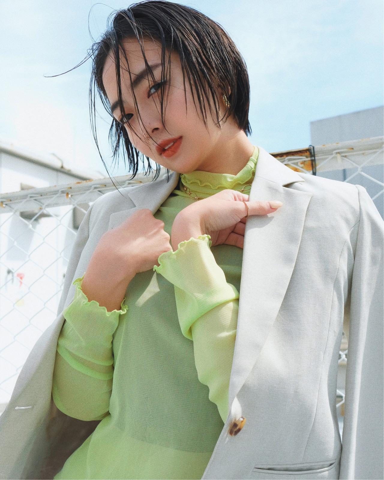 スポーツ ナチュラル デート オフィス ヘアスタイルや髪型の写真・画像 | YUJI / LIICHI / LIICHI (リイチ)