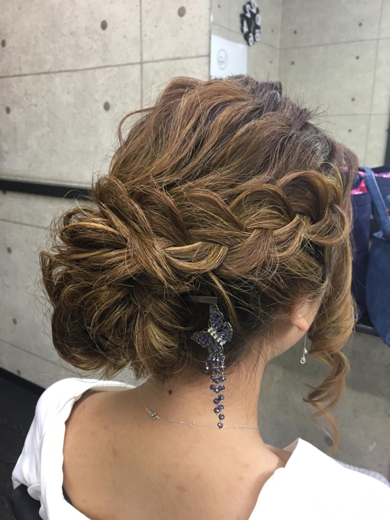 成人式 ゆるふわ 結婚式 ヘアアレンジ ヘアスタイルや髪型の写真・画像   シンディー(店長)/shinji / hair make salon Revier