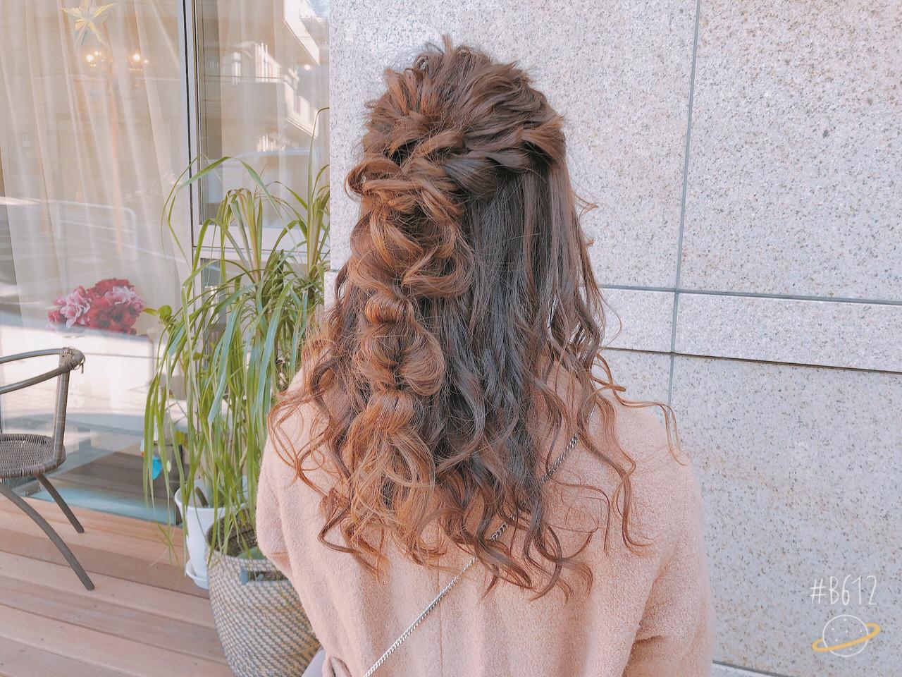 ロング アウトドア デート ヘアアレンジ ヘアスタイルや髪型の写真・画像 | tutti / Saibu