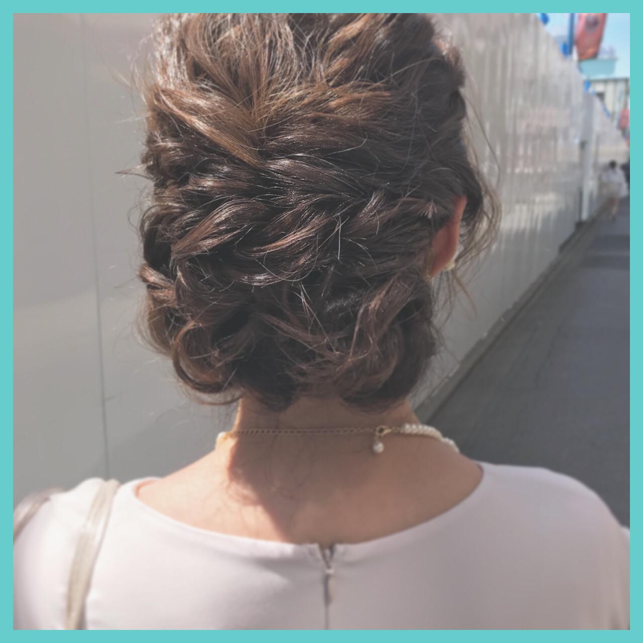 簡単ヘアアレンジ 成人式 ナチュラル パーティ ヘアスタイルや髪型の写真・画像 | aya / RITA&Co.大宮東口店