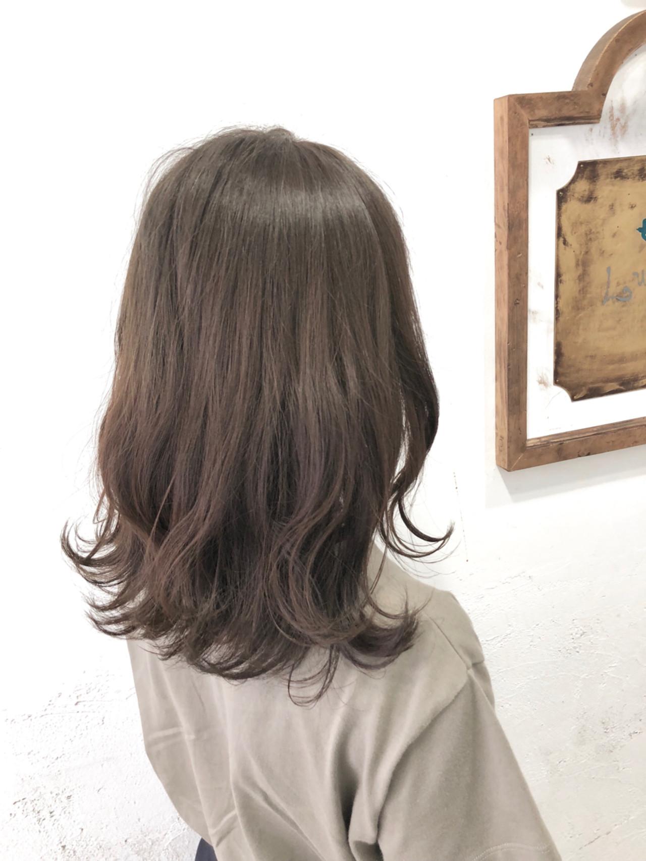 ナチュラル 前髪あり 夏 大人かわいい ヘアスタイルや髪型の写真・画像