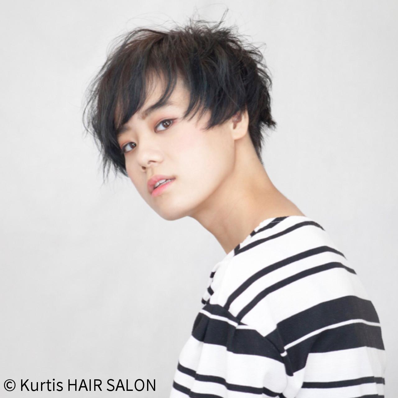 ショート 簡単ヘアアレンジ 成人式 デート ヘアスタイルや髪型の写真・画像
