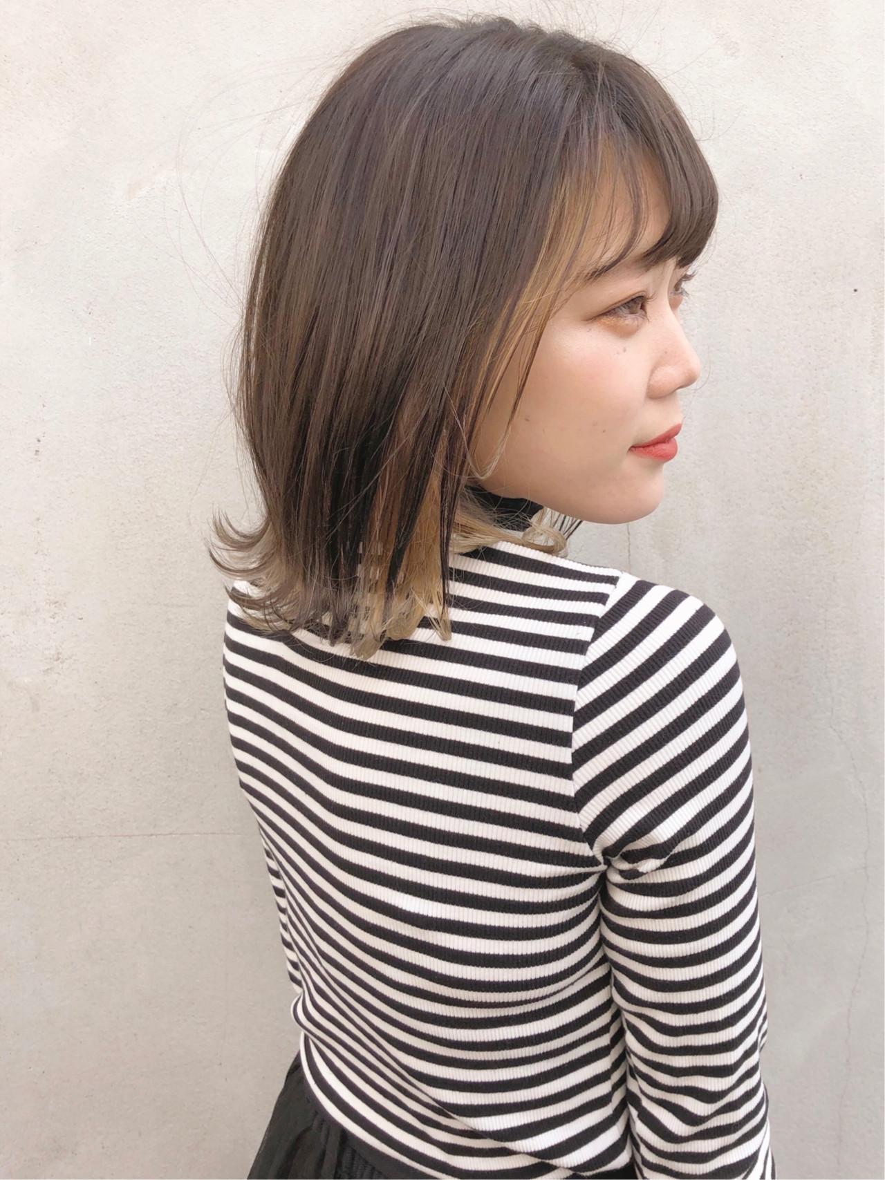 モード ブリーチカラー ショート ブリーチ ヘアスタイルや髪型の写真・画像 | 村井優紀 / FITS CORE フィッツコア