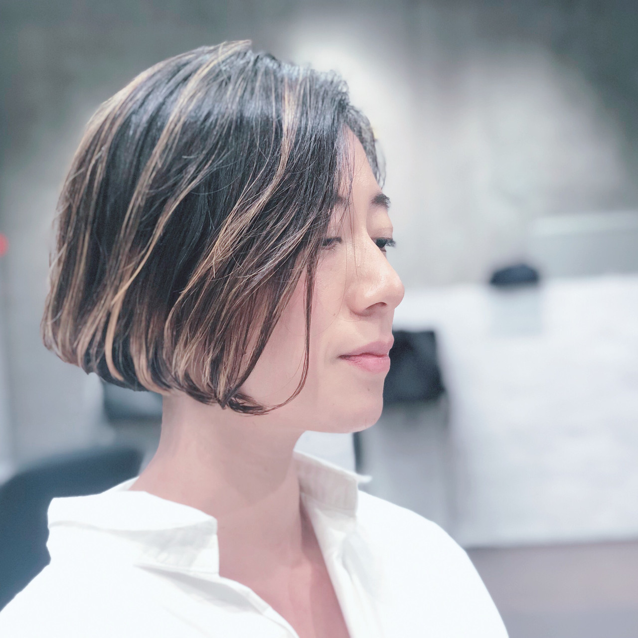 小顔ショート ナチュラル 簡単スタイリング ハンサムショート ヘアスタイルや髪型の写真・画像
