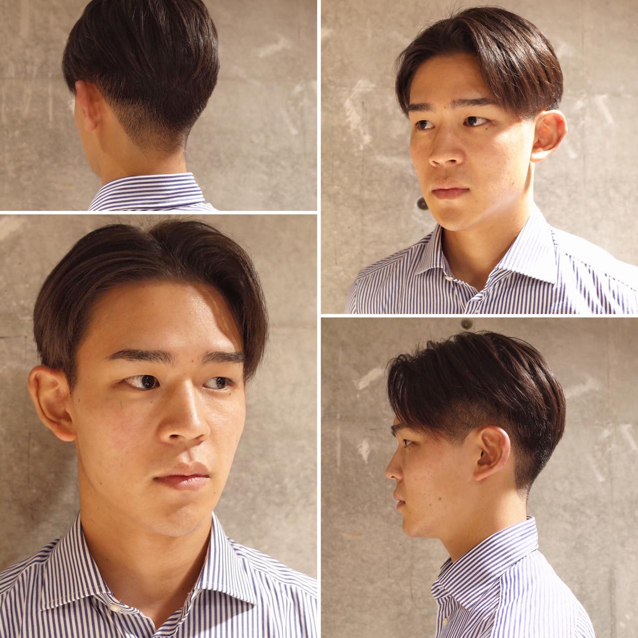 刈り上げ メンズ ナチュラル ショート ヘアスタイルや髪型の写真・画像