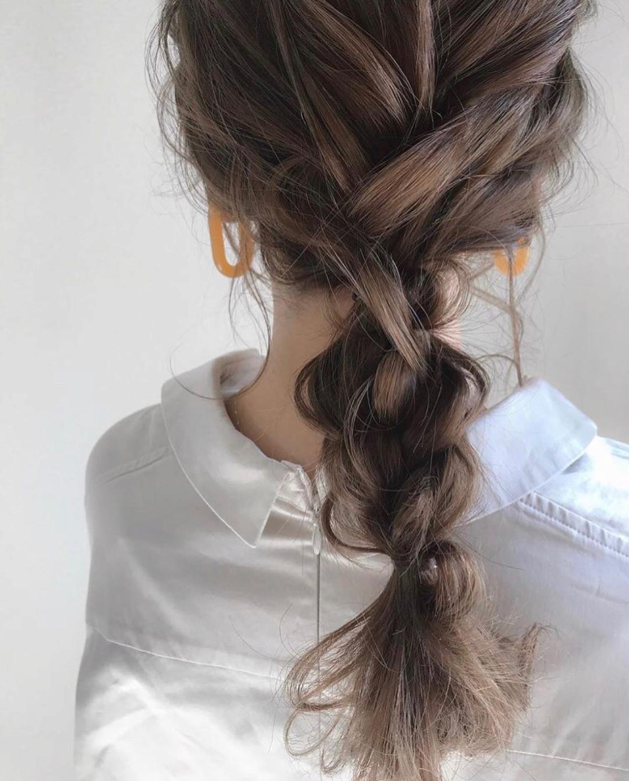 ナチュラル デート 簡単ヘアアレンジ ヘアアレンジ ヘアスタイルや髪型の写真・画像 | 三木 奨太 / hair set salon  IRIS