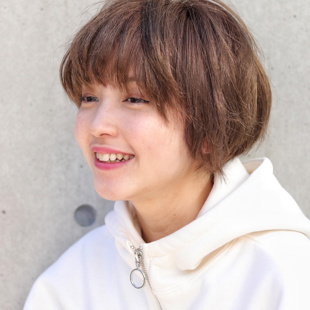 スポーツ ストリート ショート デート ヘアスタイルや髪型の写真・画像 | 大塚孝範 / hair salon ing (ヘア サロン イング)