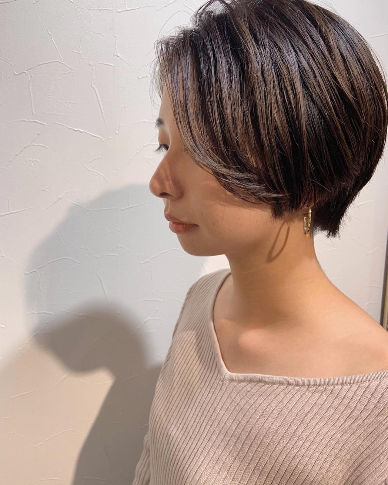 ショートヘア ベリーショート マッシュショート 小顔ショート ヘアスタイルや髪型の写真・画像