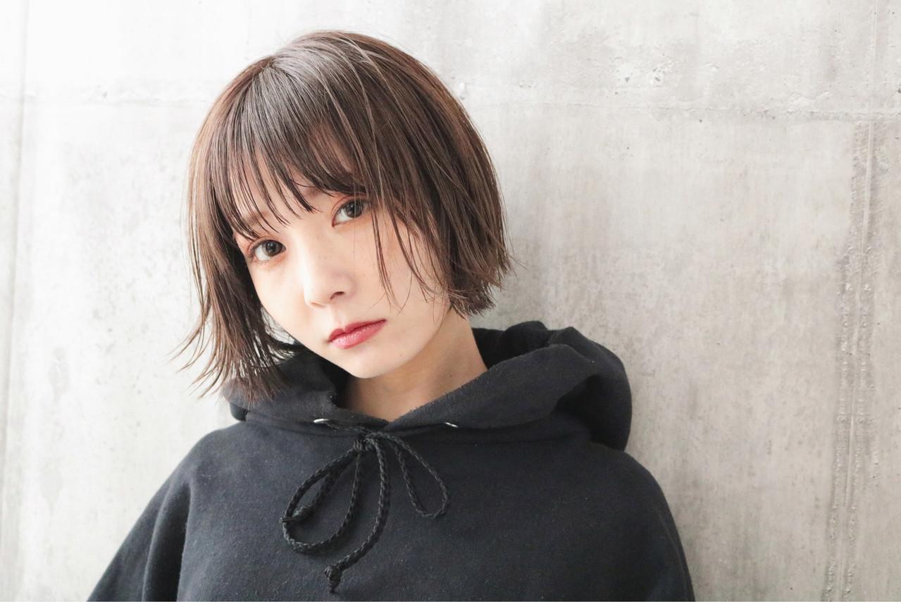 ショートボブ 小顔ショート 外国人風カラー ショート ヘアスタイルや髪型の写真・画像