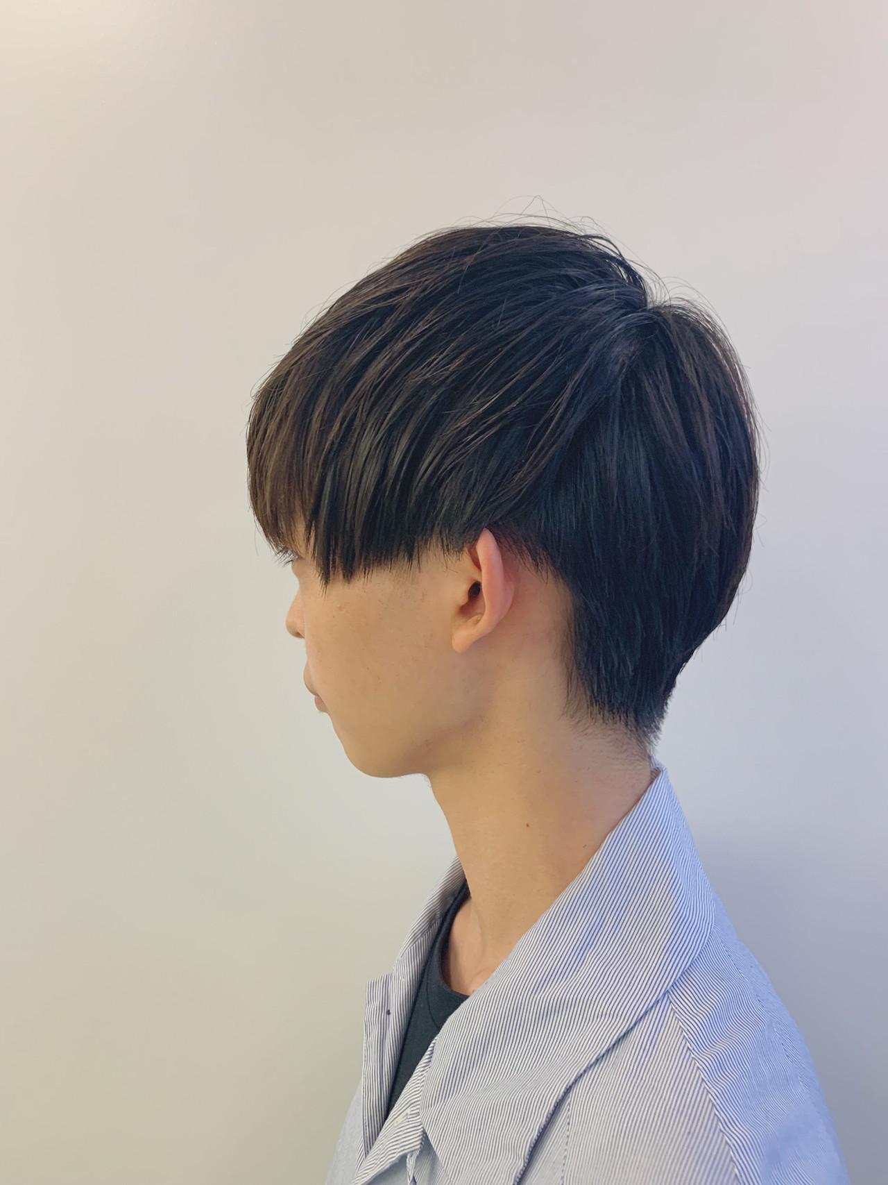 ショート メンズカット メンズ ナチュラル ヘアスタイルや髪型の写真・画像 | 大内 雅斗 / Alan Smithee kichijoji