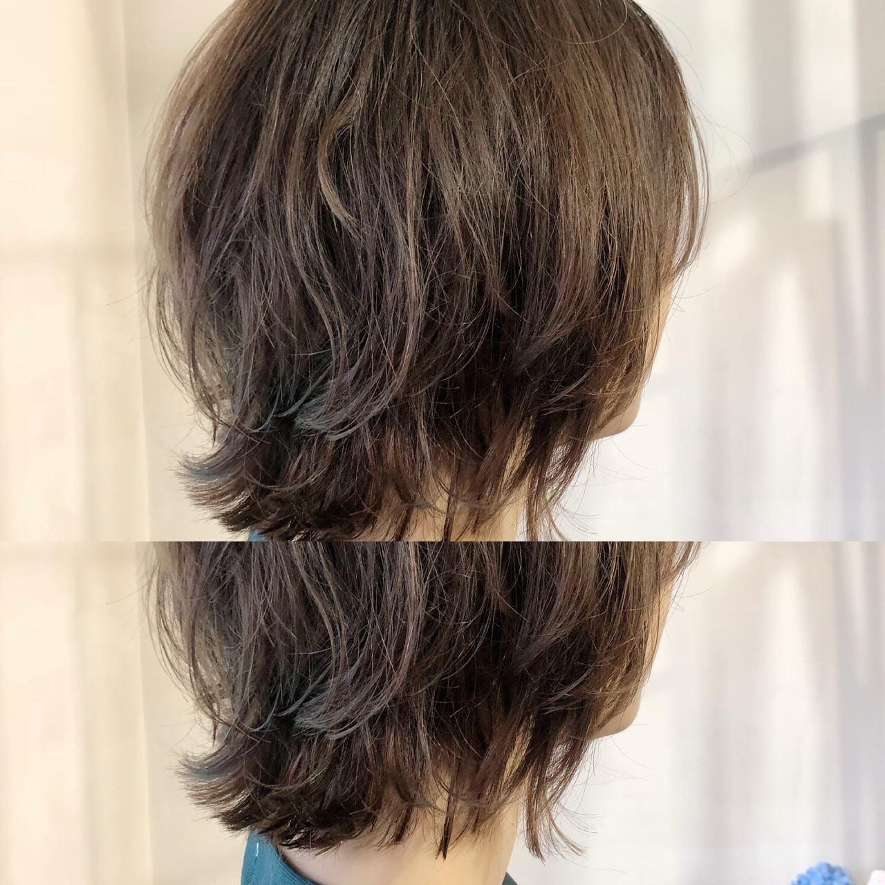 デート ナチュラル ボブ ヘアアレンジ ヘアスタイルや髪型の写真・画像 | L'atelier Content / L'atelier Content