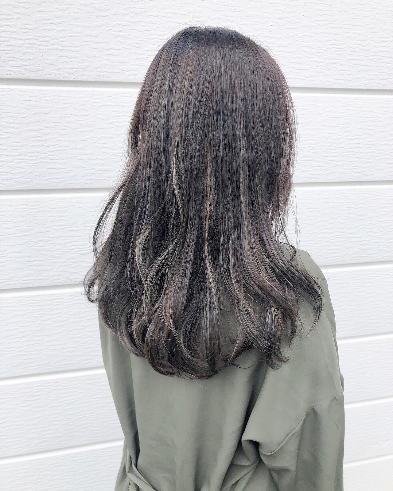 ナチュラル 透明感カラー ロング ヘアスタイル ヘアスタイルや髪型の写真・画像   村山隆幸 / CAFUNE'(カフネ   )