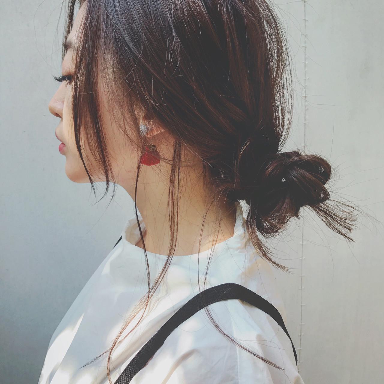 ヘアアレンジ ロング 似合わせ ヘアスタイルや髪型の写真・画像