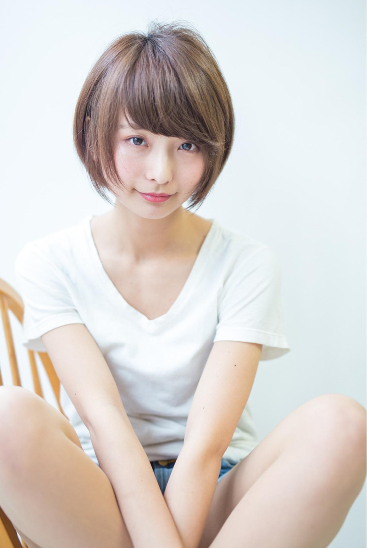 大人女子 小顔 こなれ感 ストレート ヘアスタイルや髪型の写真・画像 | Fringe 染谷正 / Fringe Hair Salon