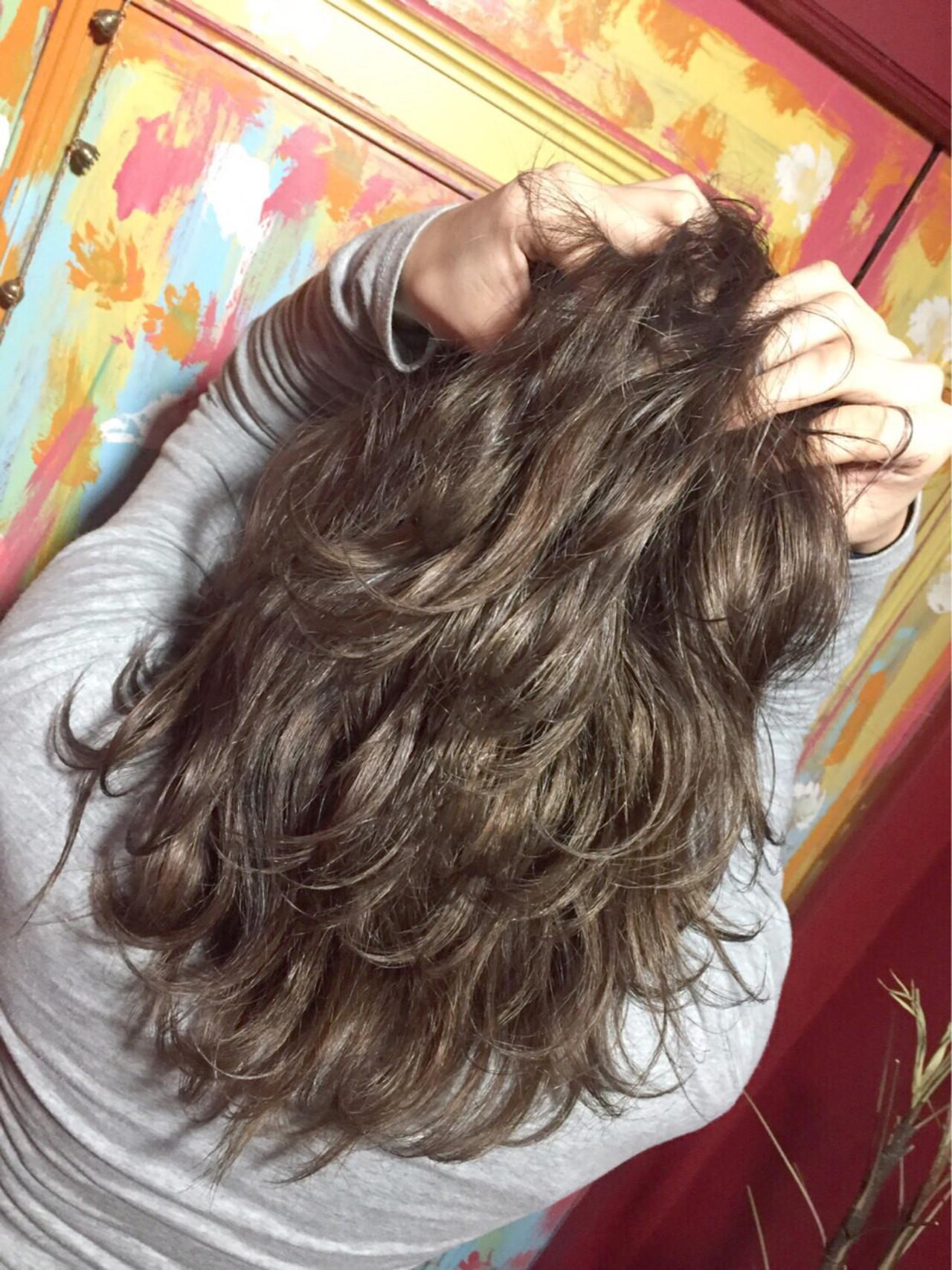 外国人風 ハイライト 透明感 ミディアム ヘアスタイルや髪型の写真・画像 | tatsuzo / AWAY123125