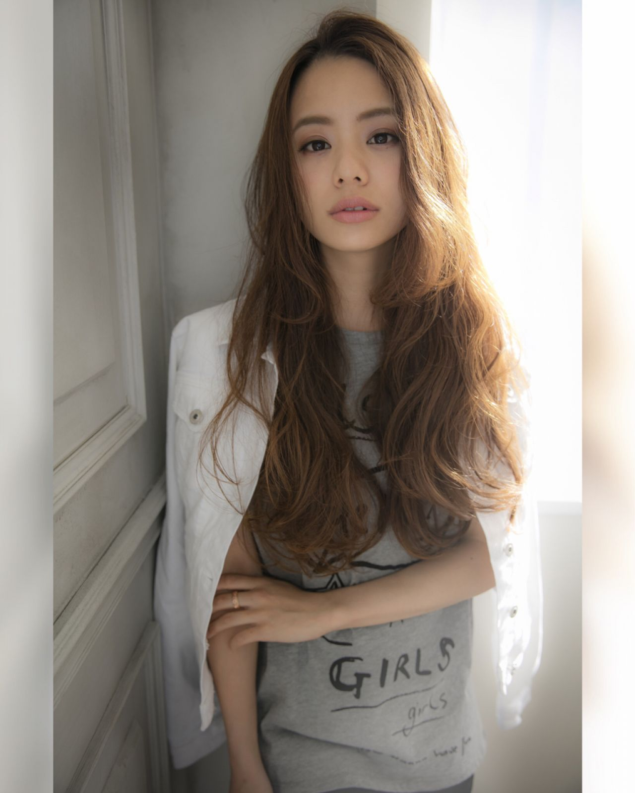 モテ髪 フェミニン ナチュラル 愛され ヘアスタイルや髪型の写真・画像
