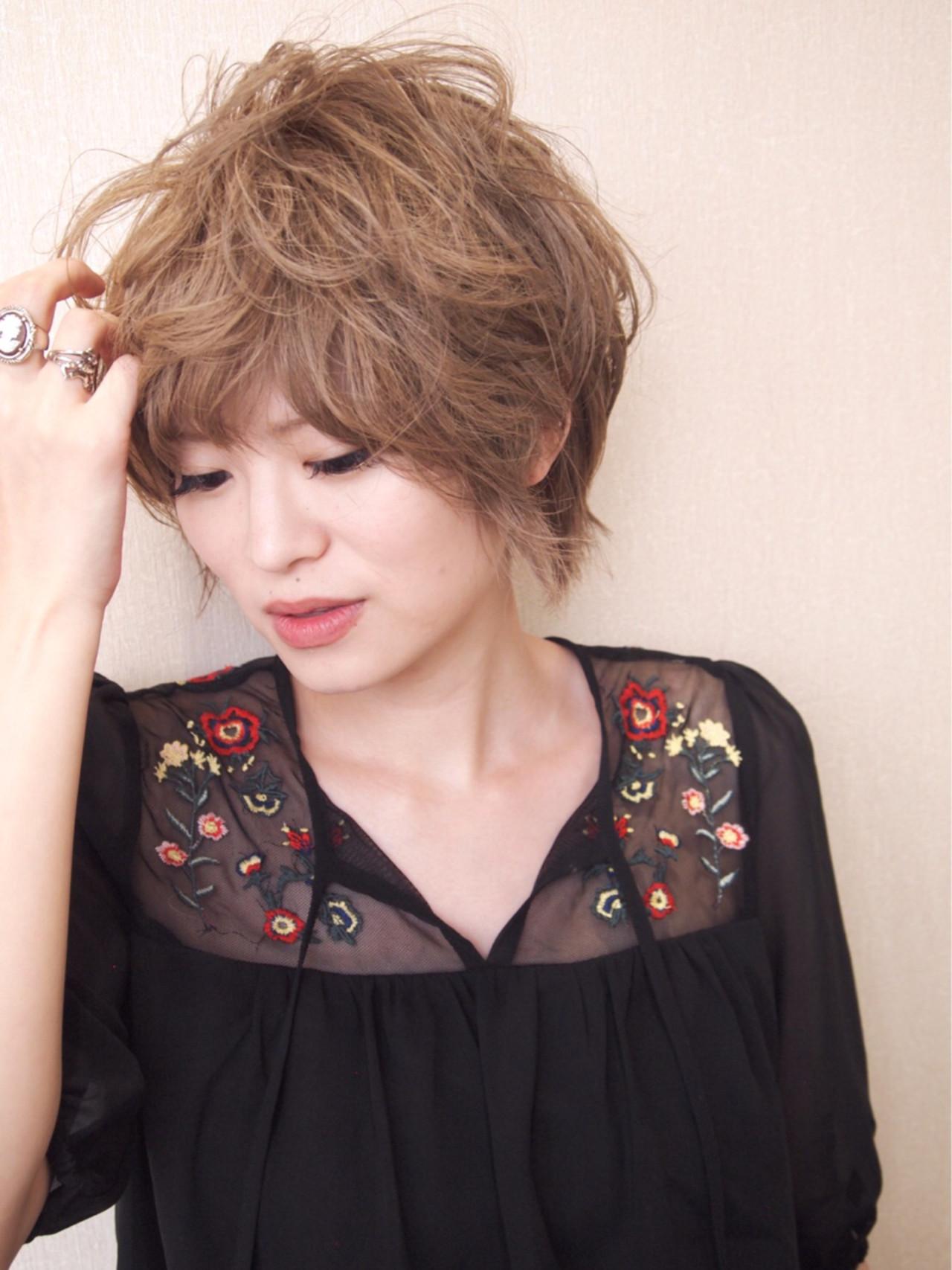 大人女子 パーマ 外国人風 ガーリー ヘアスタイルや髪型の写真・画像