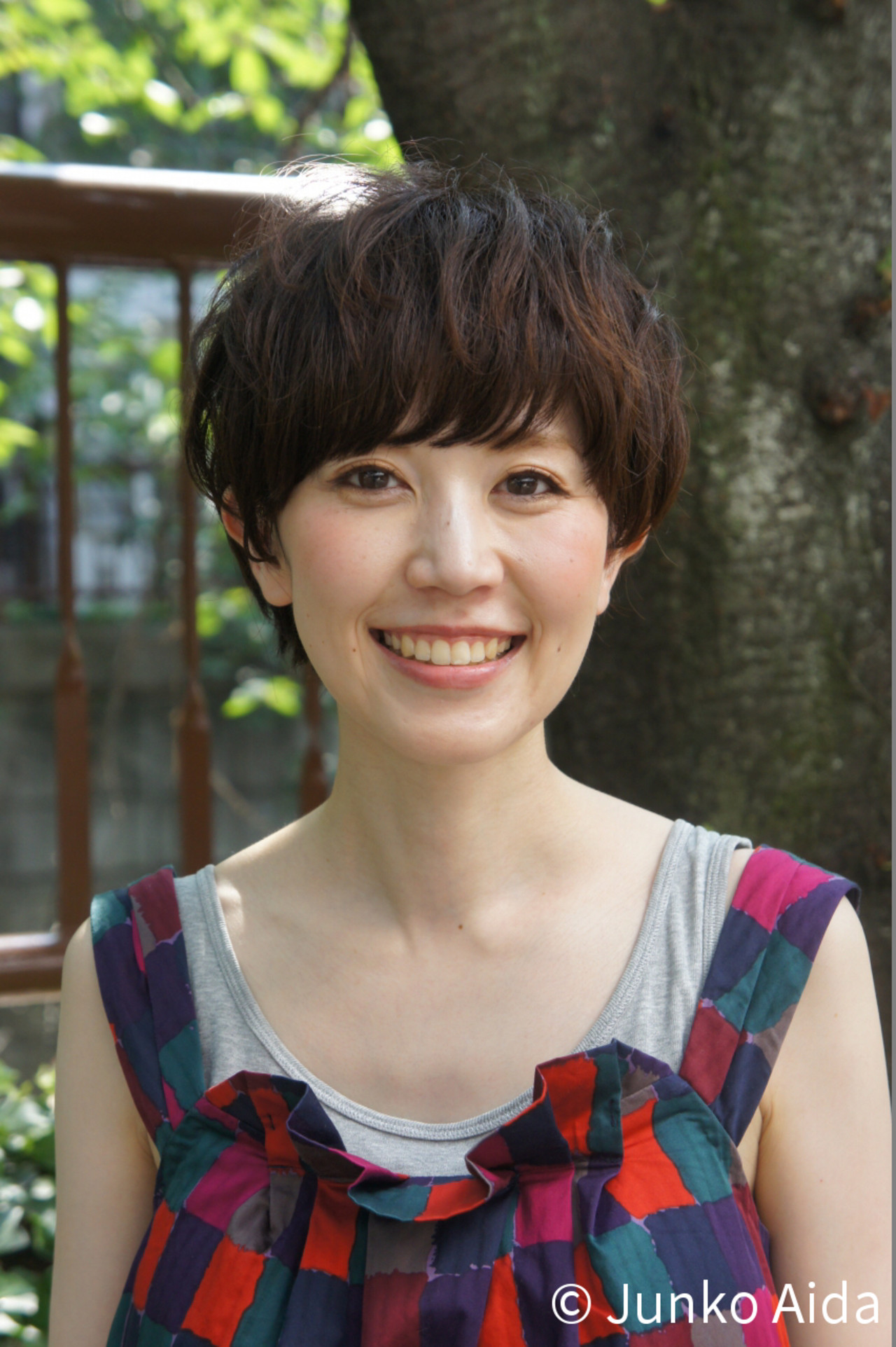 ナチュラル ショート マッシュ 小顔 ヘアスタイルや髪型の写真・画像   Junko Aida / Hair salon Canaria